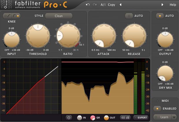 Fabfilter Pro-C Compressor