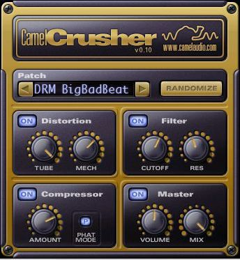 CamelCrusher OrigSize Top Ten Free VST Plugins for Mac & PC