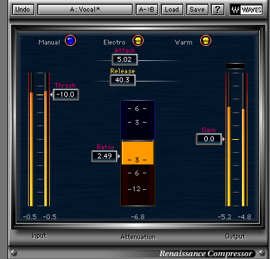 vocal chain A plug 1 Vocal Plugin Chain Set Up   Example 1