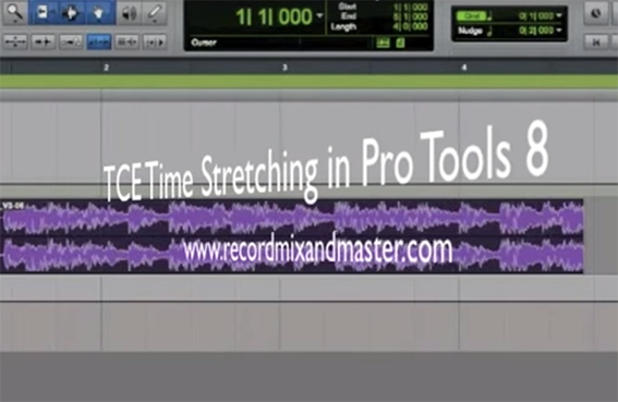 TCE Time Stretching in Pro Tools 8