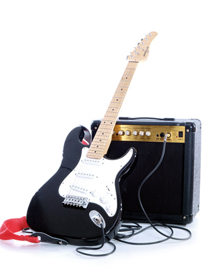 Fotolia 25123124 XS Recording Electric Guitar
