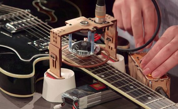 Motors, Magnets and Motion: Electronic Instruments from the Physical World