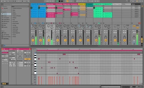 Multi-Clip Construction In Ableton Live 10