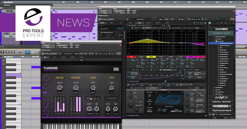 Avid Announce Inclusion Of UVI Virtual Instruments At No Extra Cost With Pro Tools 2018