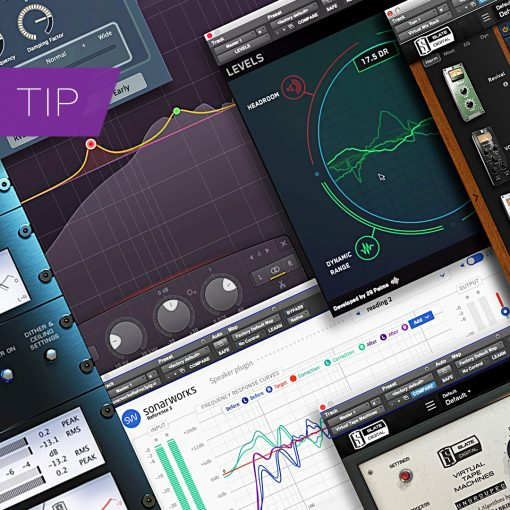 My Mastering Plug-in Chain